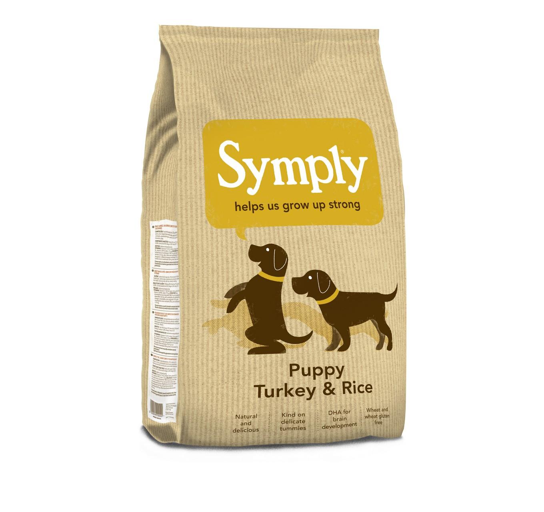 Symply Puppy Turkey & Rice 2kg
