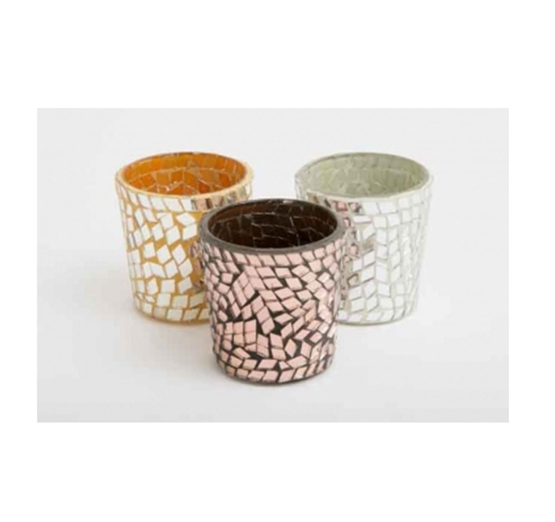 Mosaic Tea Light Holder - Each