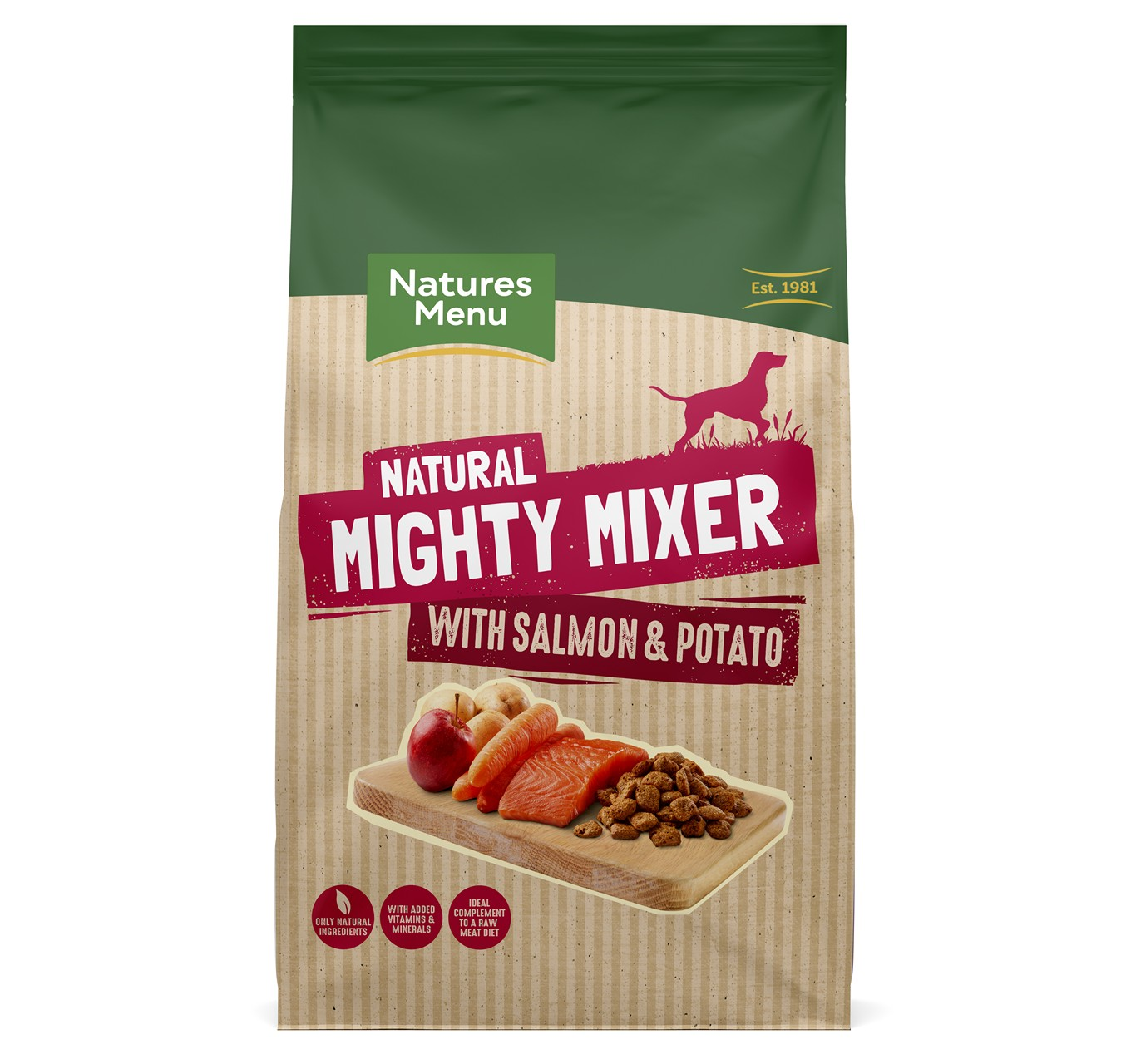 Mighty Mixer Salmon & Pot. 2kg