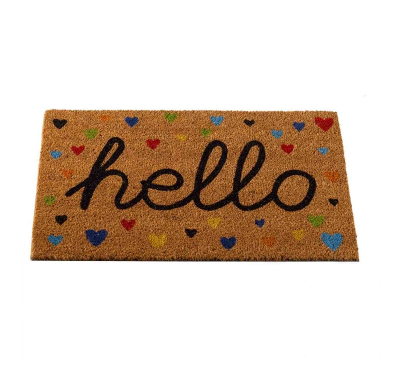 Hearty Hello Mat 75x45cm