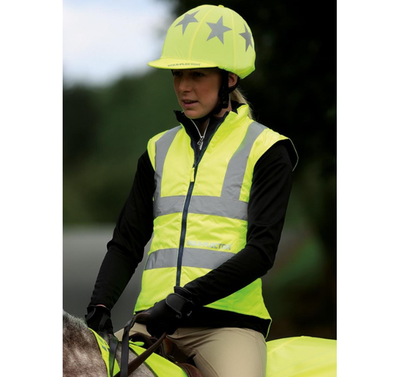 Hi-Viz Waistcoat Yellow L
