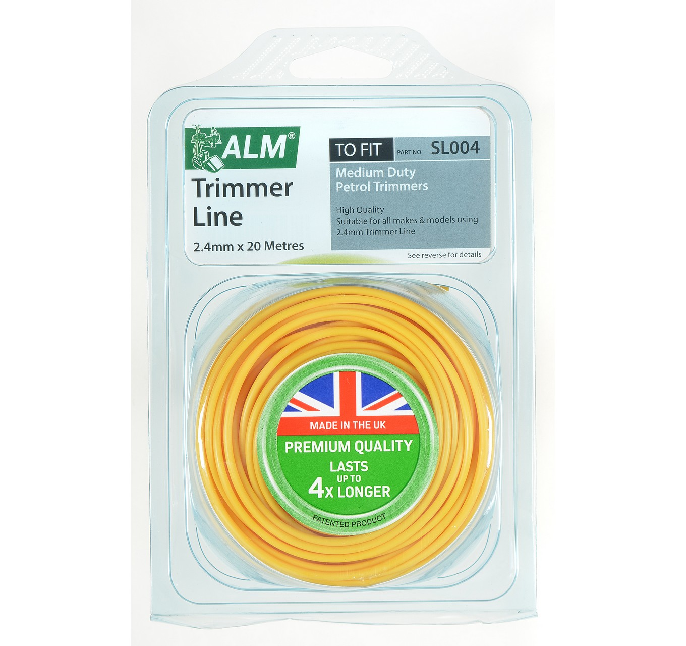 SL004 Trimmer Line 2.4mm x 20m