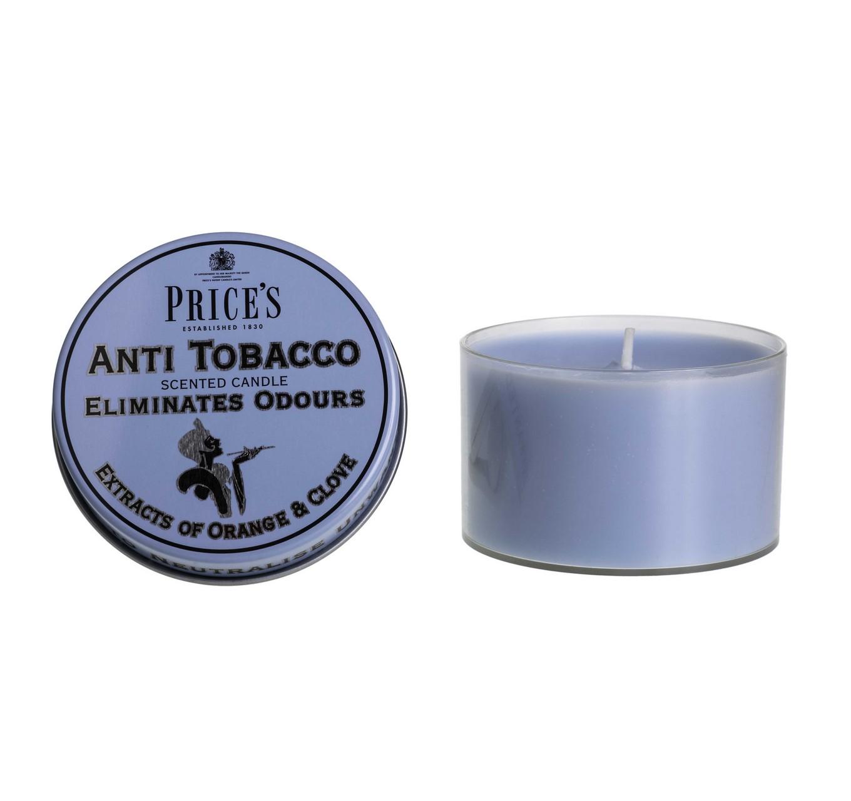 Anti-Tobacco Tin Candle