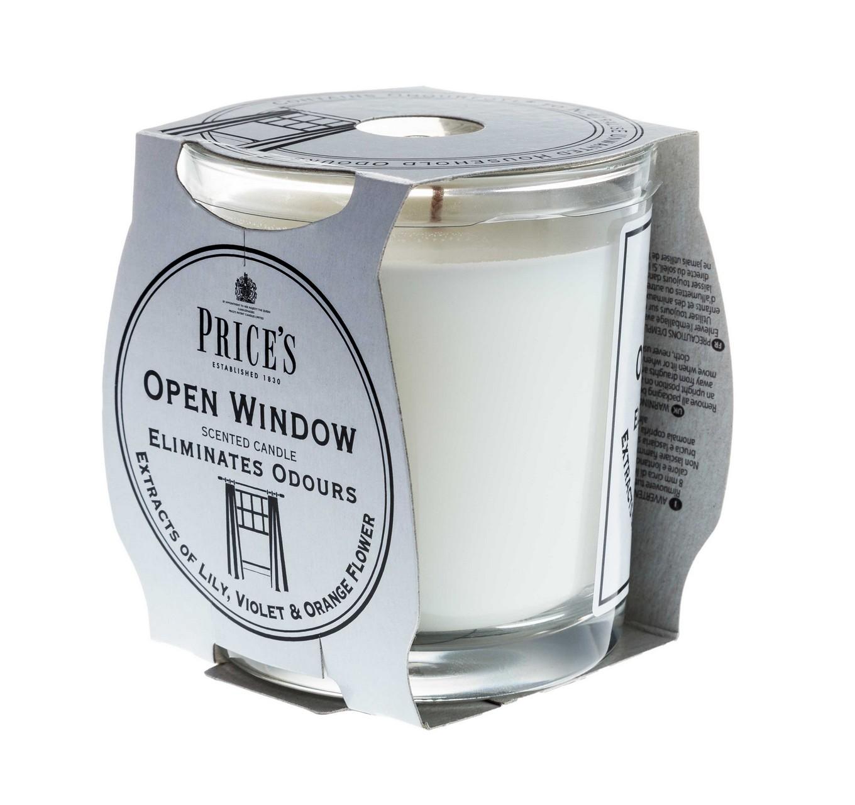 Open Window Candle Jar