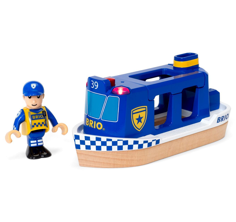 Police Boat Light & Sound