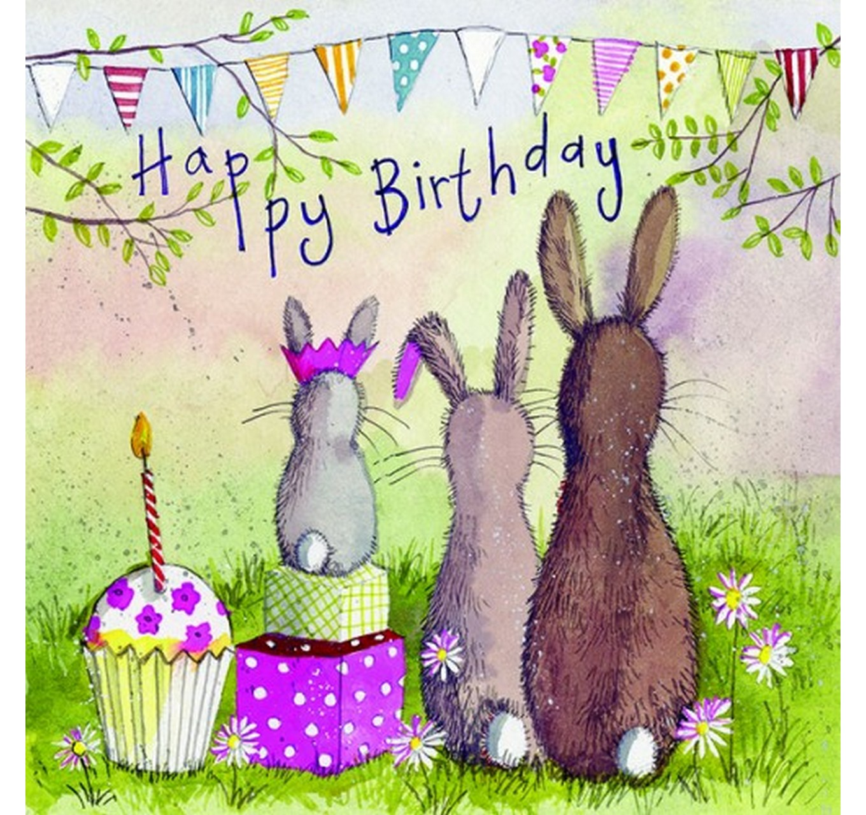 Birthday - Rabbit Family