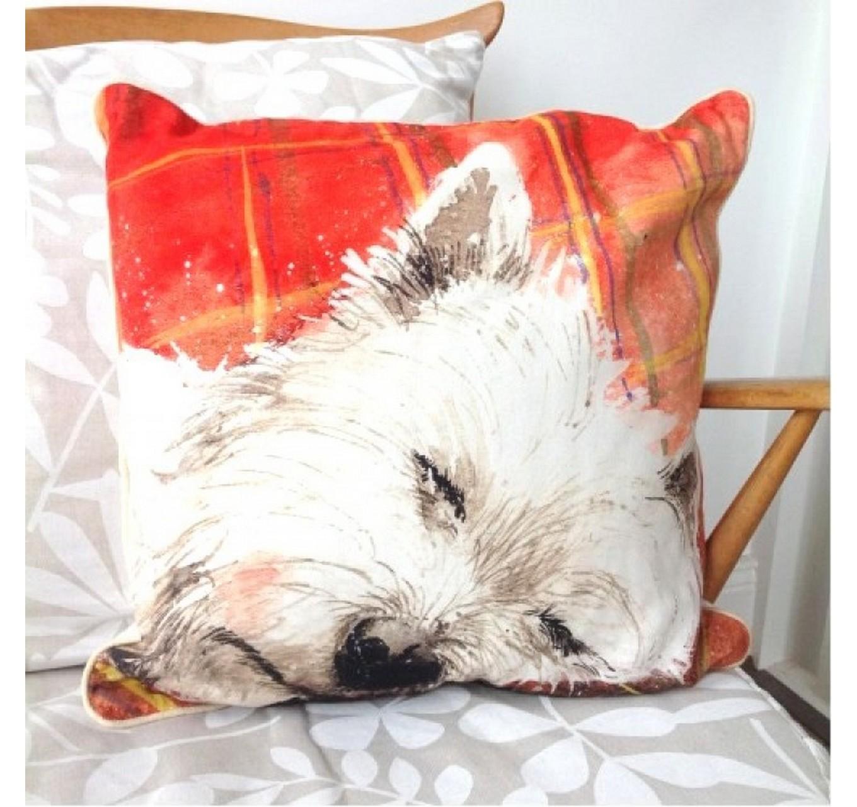 Tartan Rug - Cushion