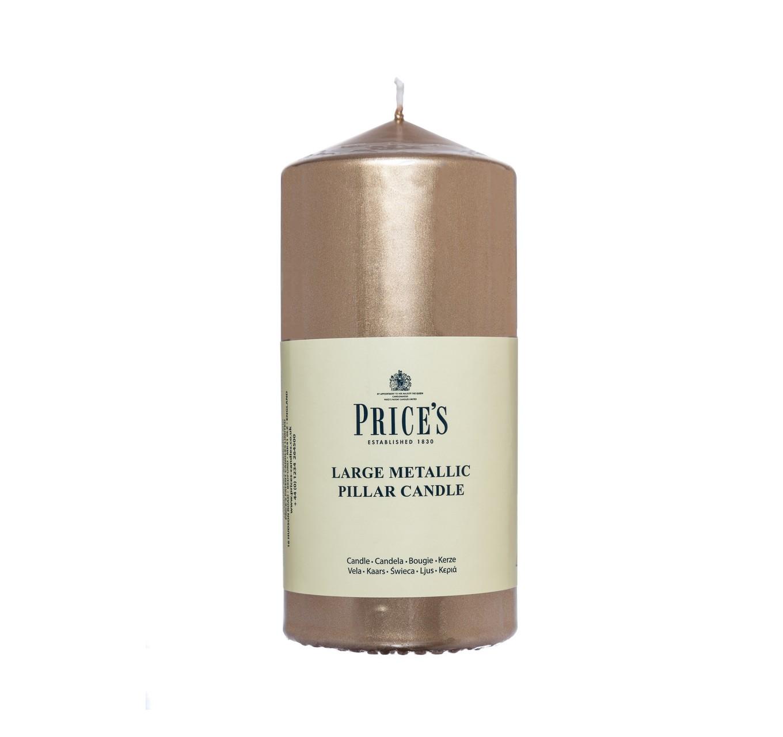 Gold Pillar Candle 150mm