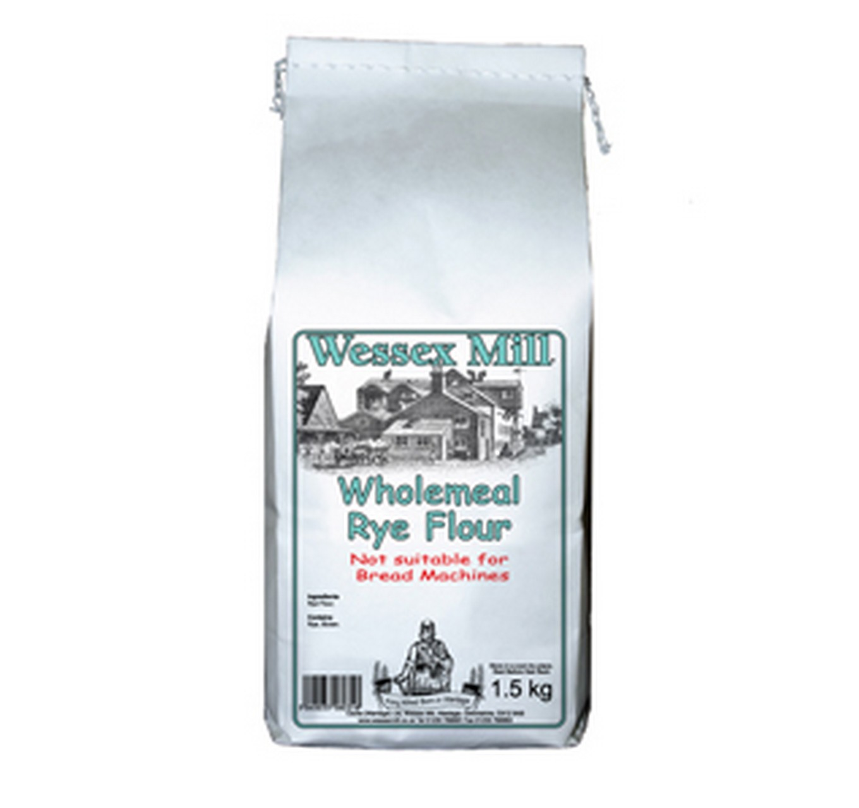 Wholemeal Rye Flour 1.5kg