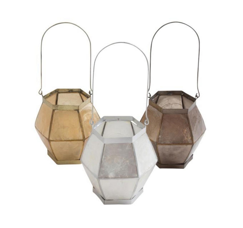 Capiz Candle Lantern - Each