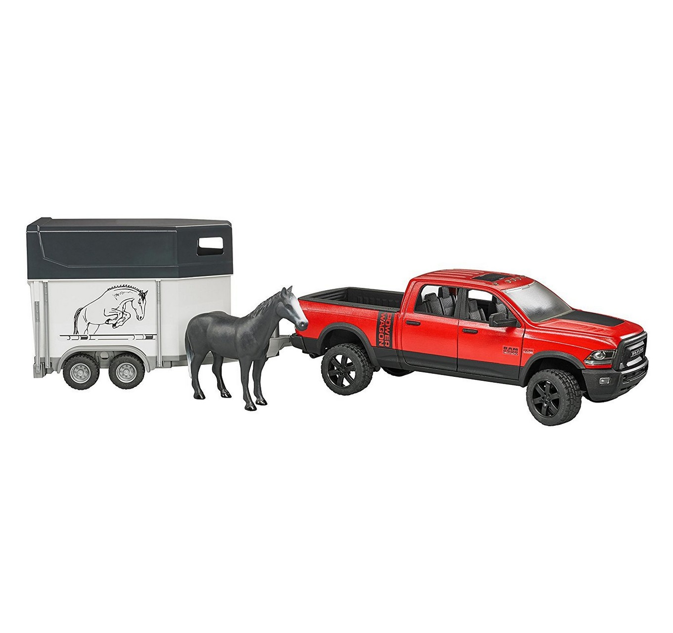 RAM 2500 with Horse Trailer