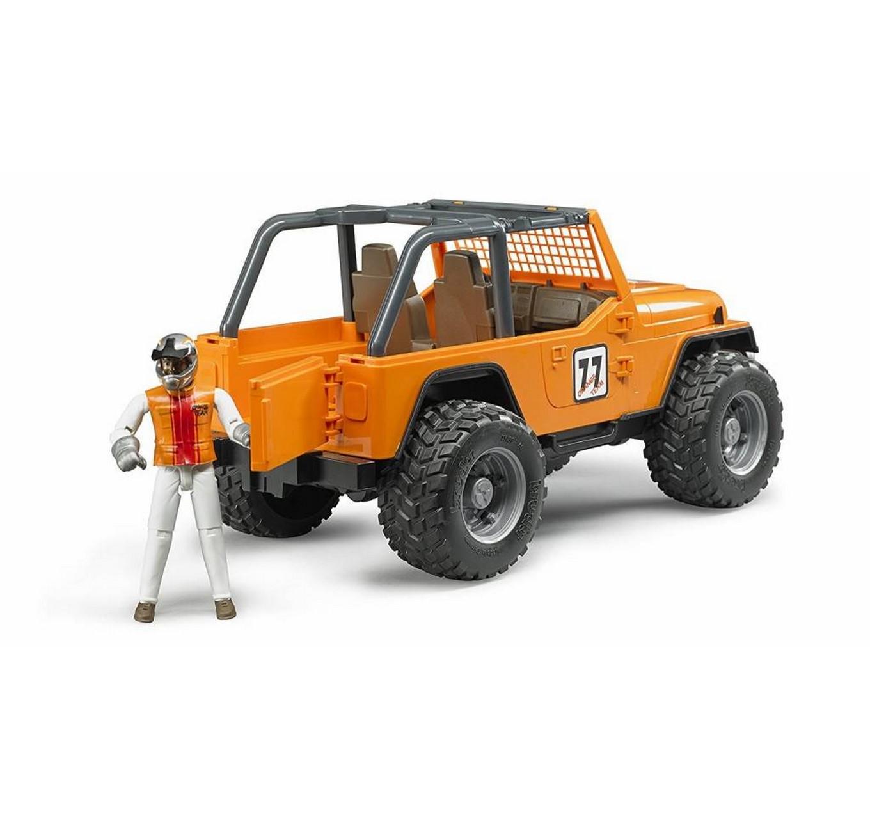 Jeep CrossCountry Racer Orange