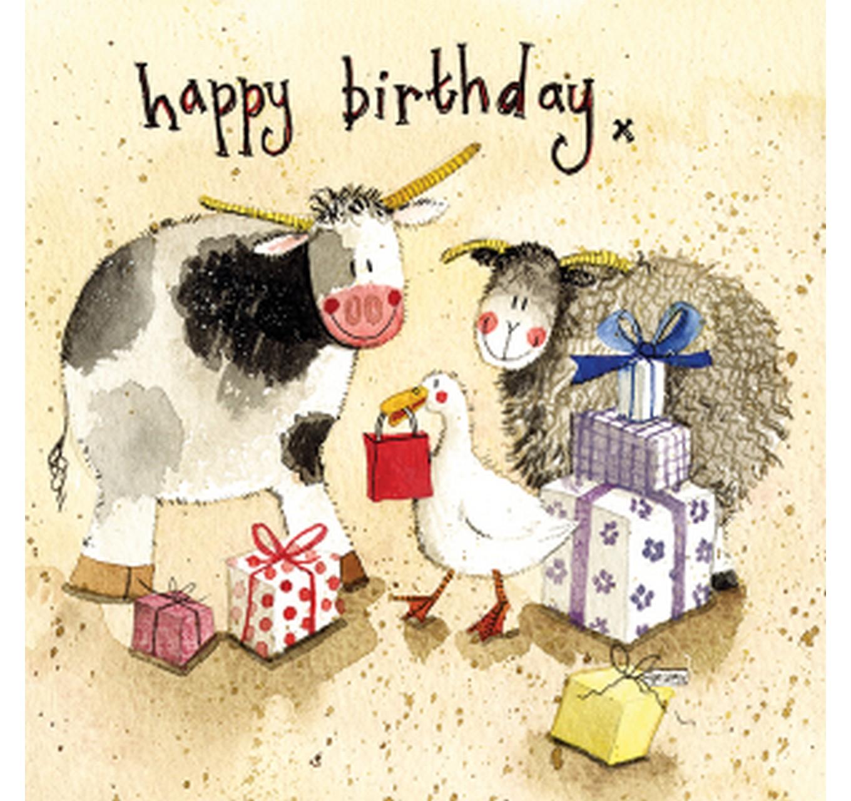 Birthday - Farmyard Presents