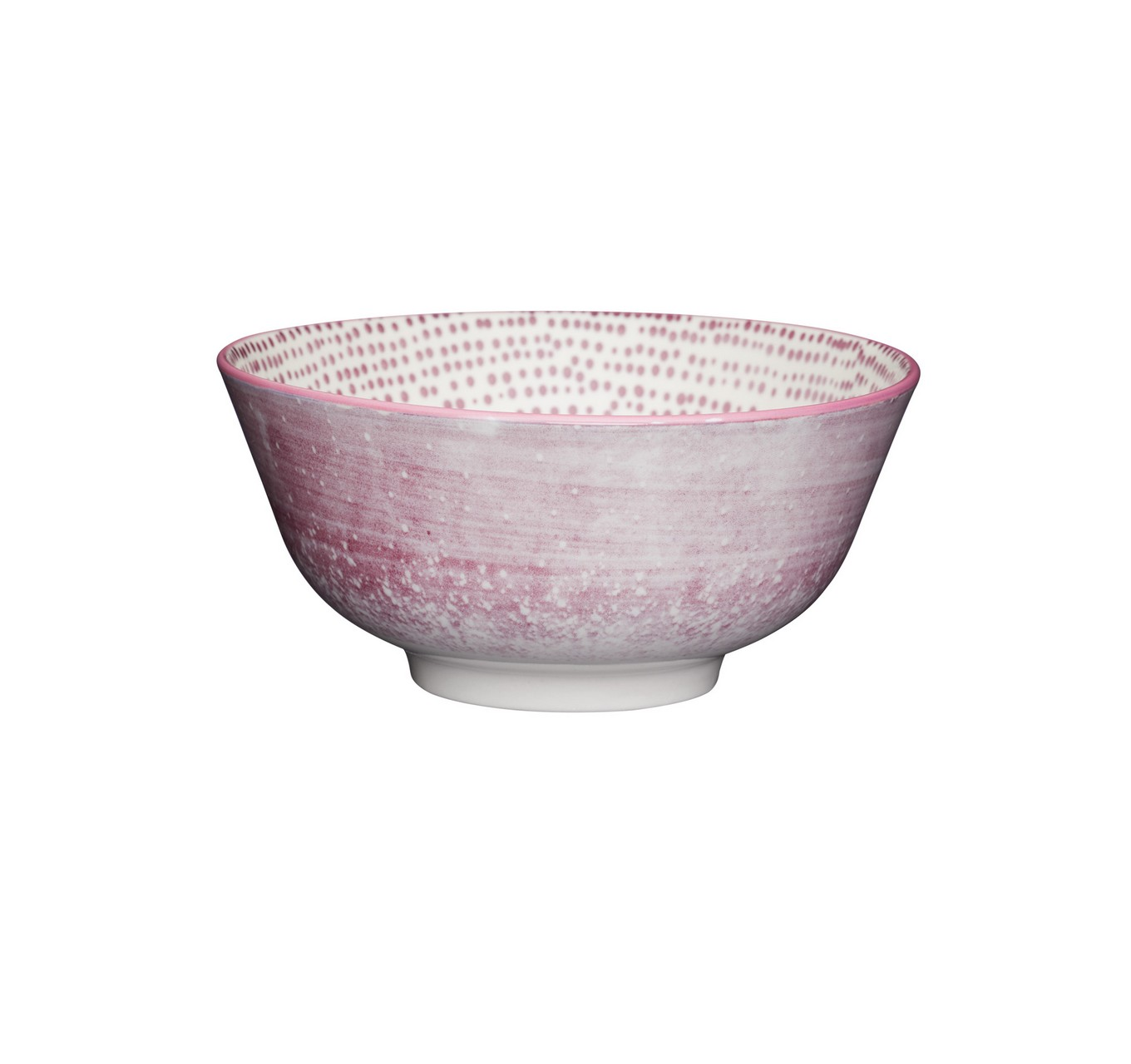 Purple Watercolour Bowl 15.7cm