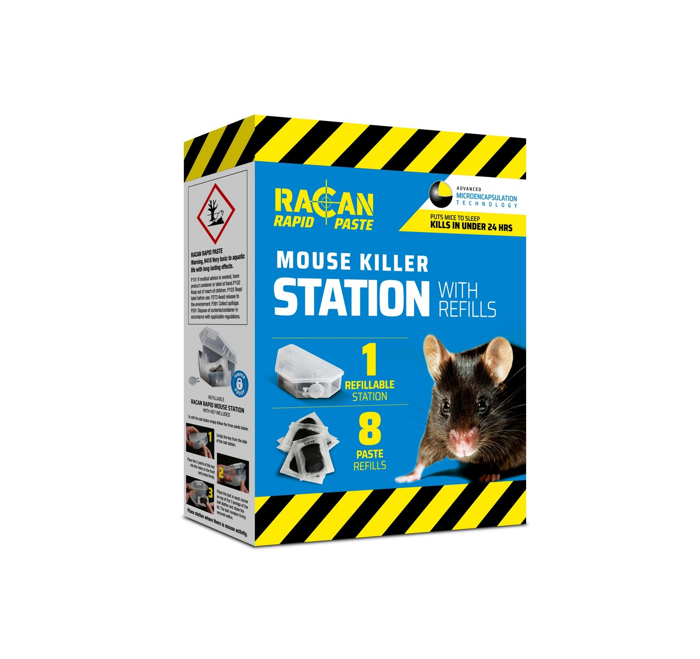 Mouse Killer Station + 8x10g
