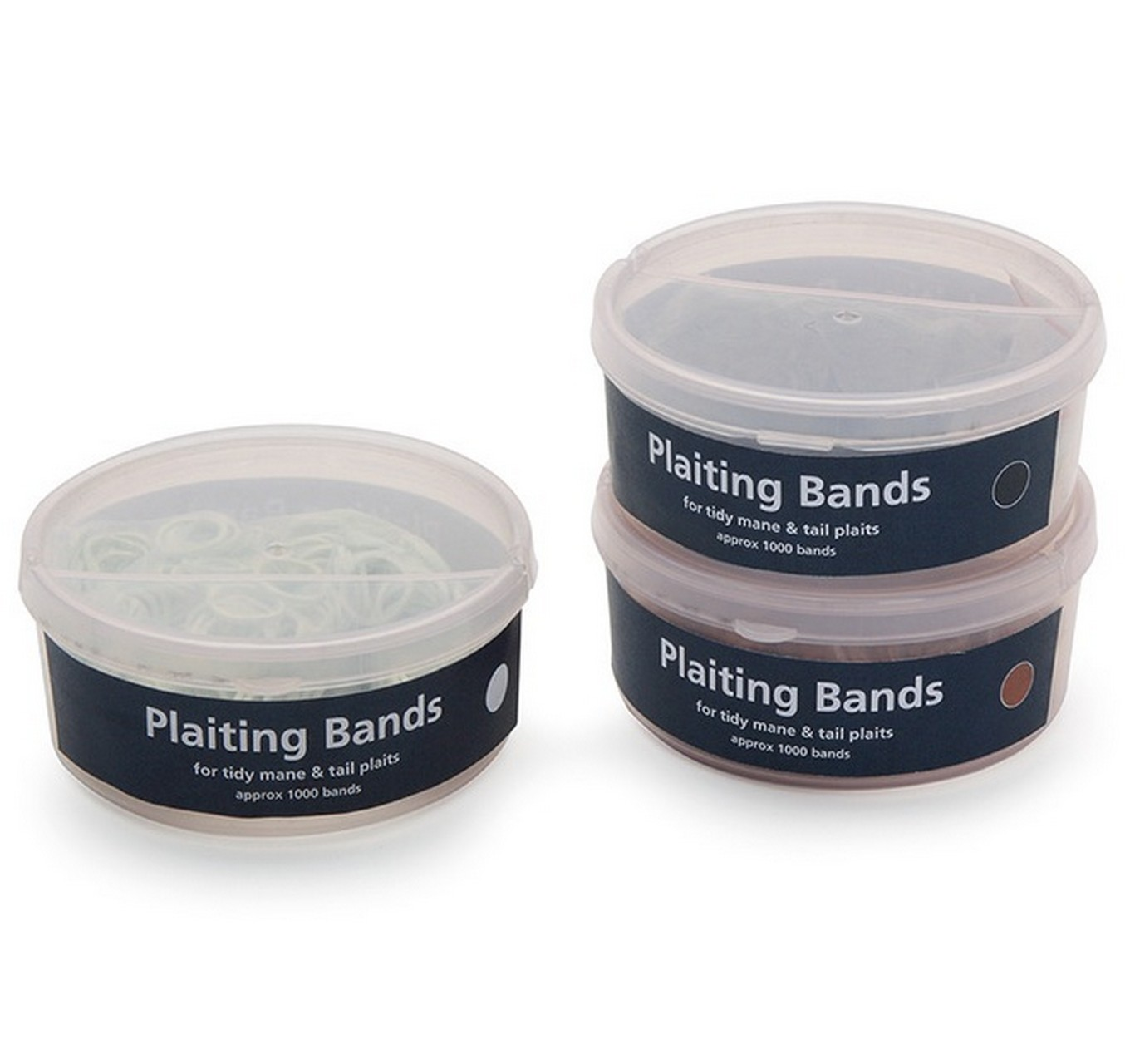 Plaiting Bands Tub White