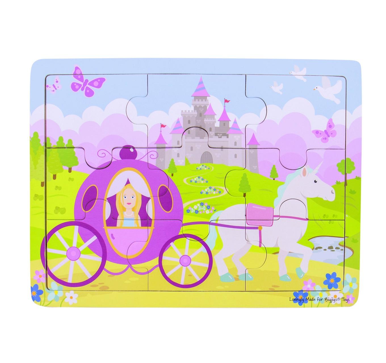 Tray Puzzle - Princess