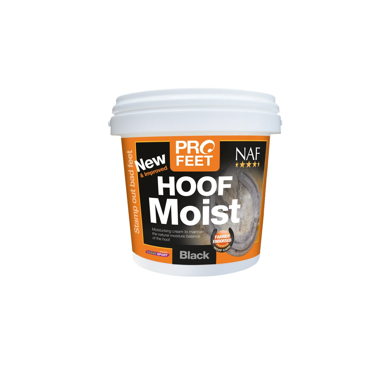 Pro Feet Hoof Moist Black 900g