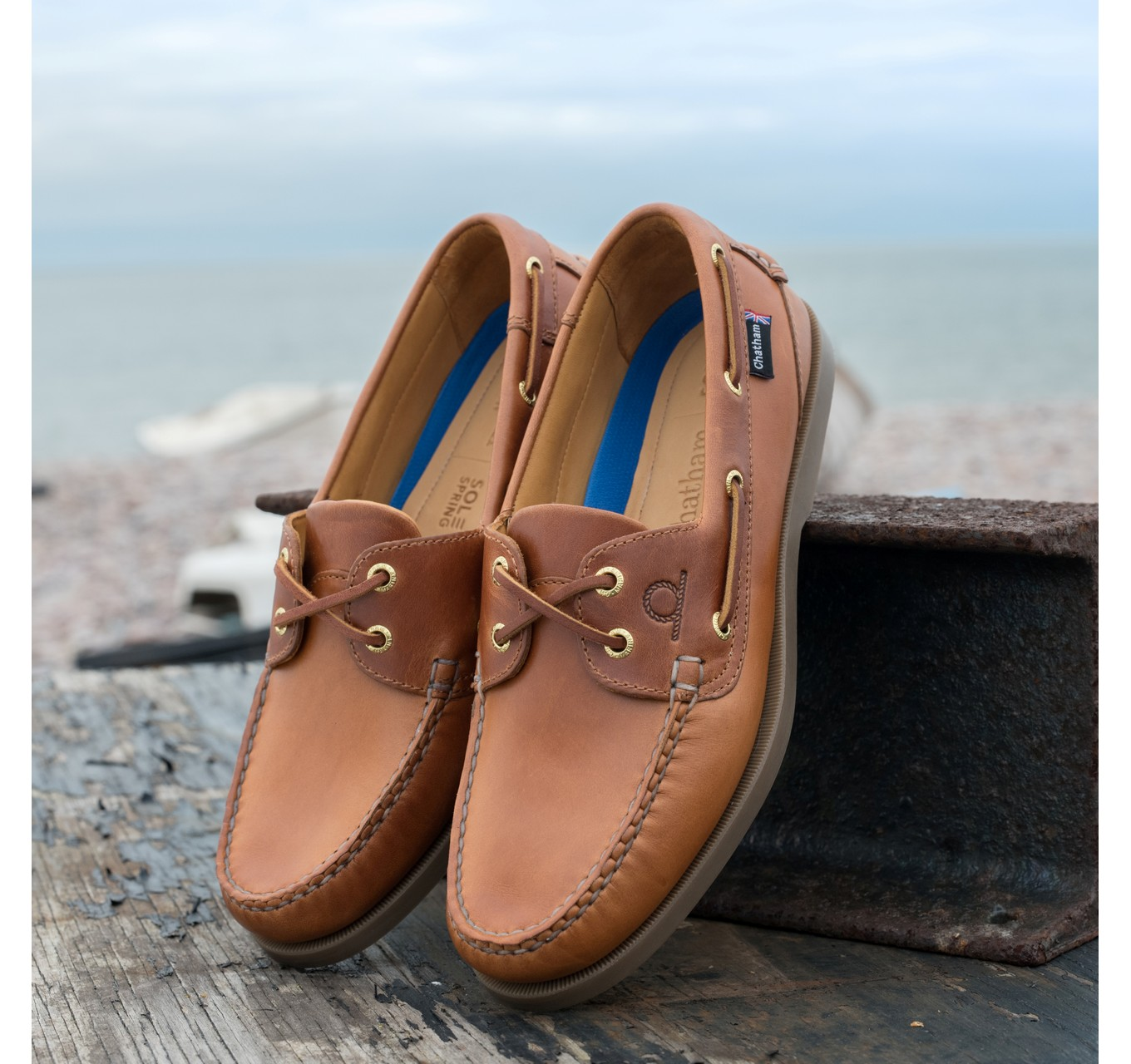 Deck II Mens Shoes Tan 11