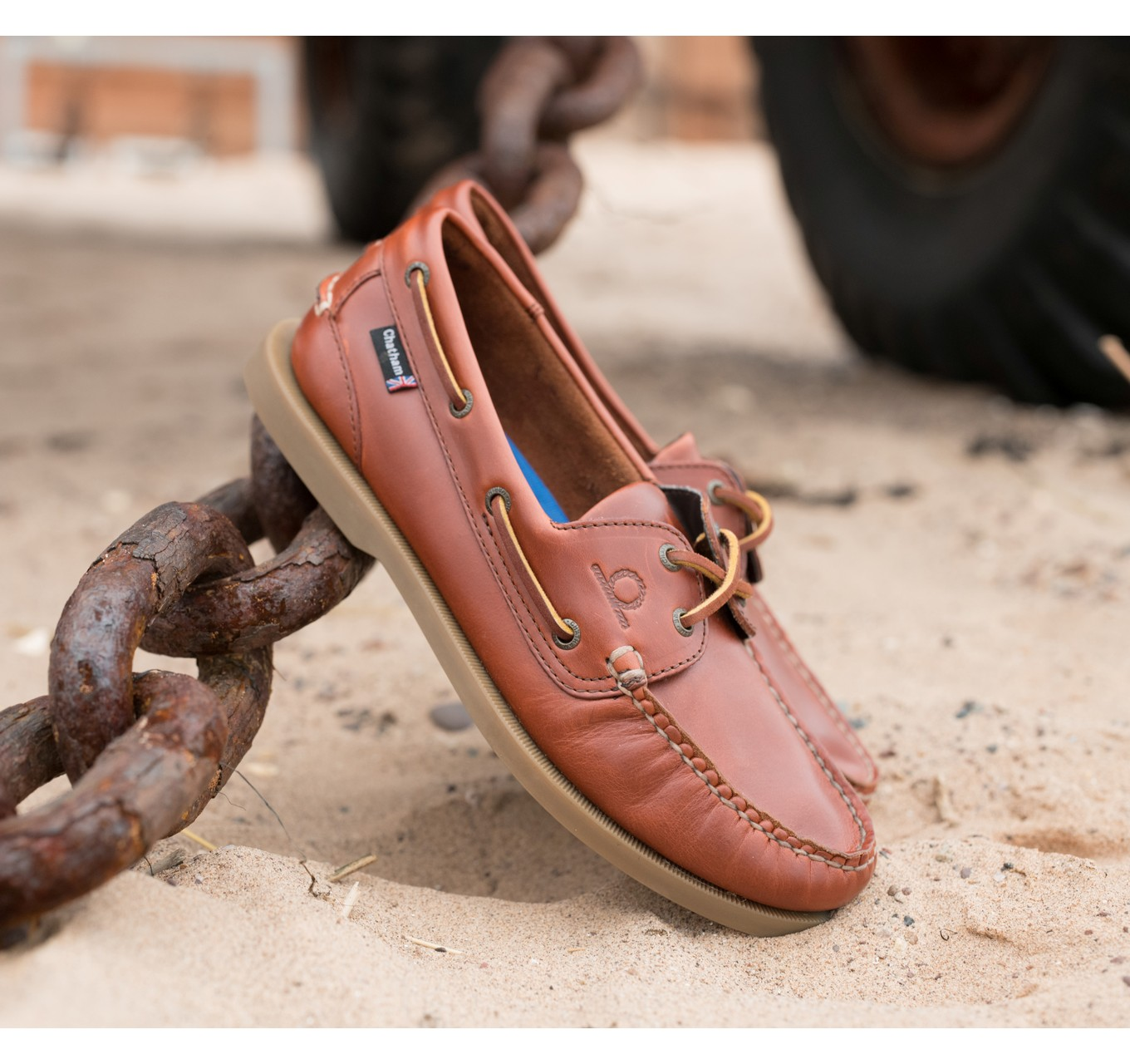 Deck Lady II Shoes Chestnut 8