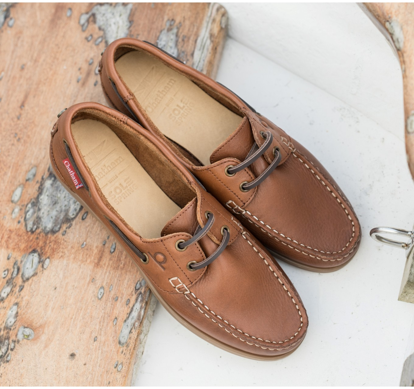Willow Ladies Shoes Brown 8