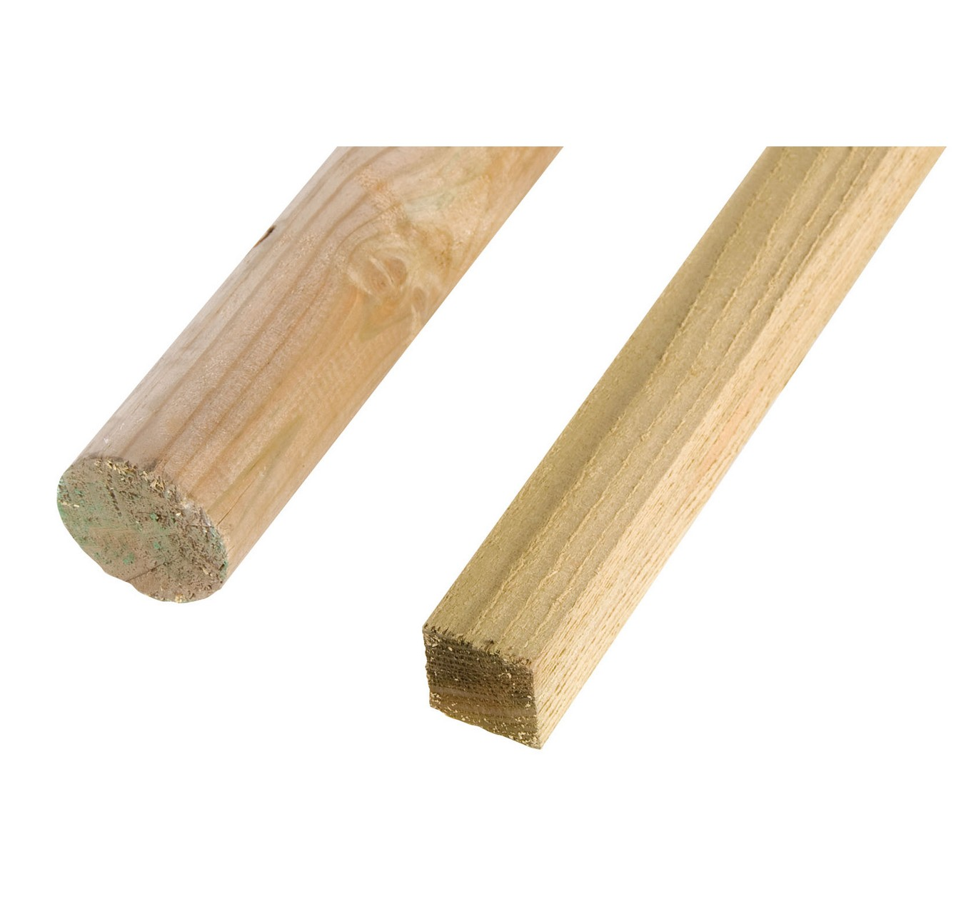 Square Tree Stake 40mm x 2.1m