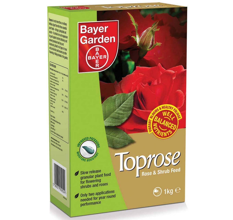 TOPROSE Rose/Shrub Feed 4kg