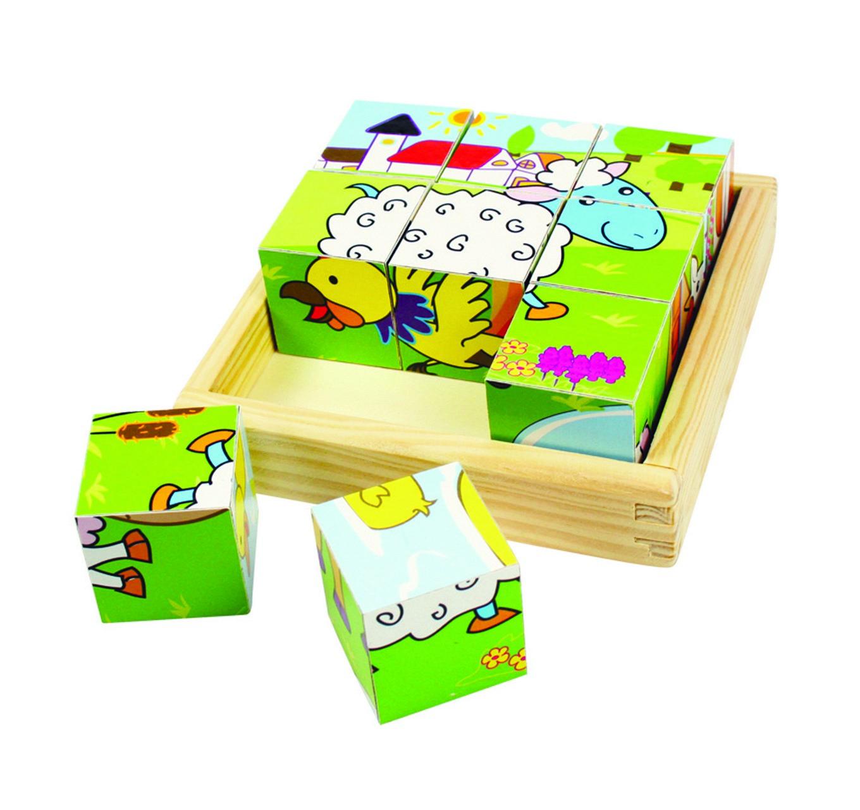 Cube Puzzle - Animal