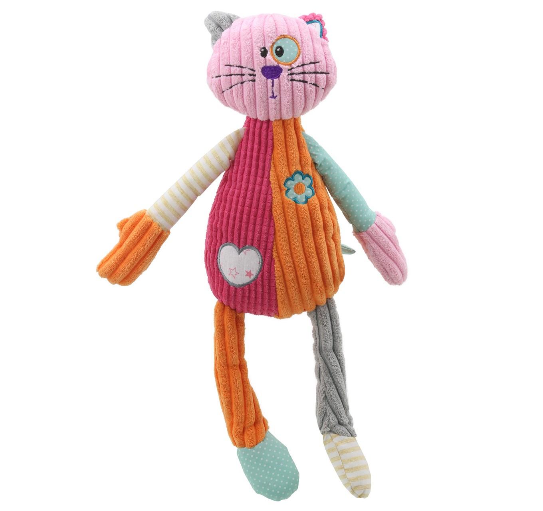 Snuggles Cat (Pink) 370mm
