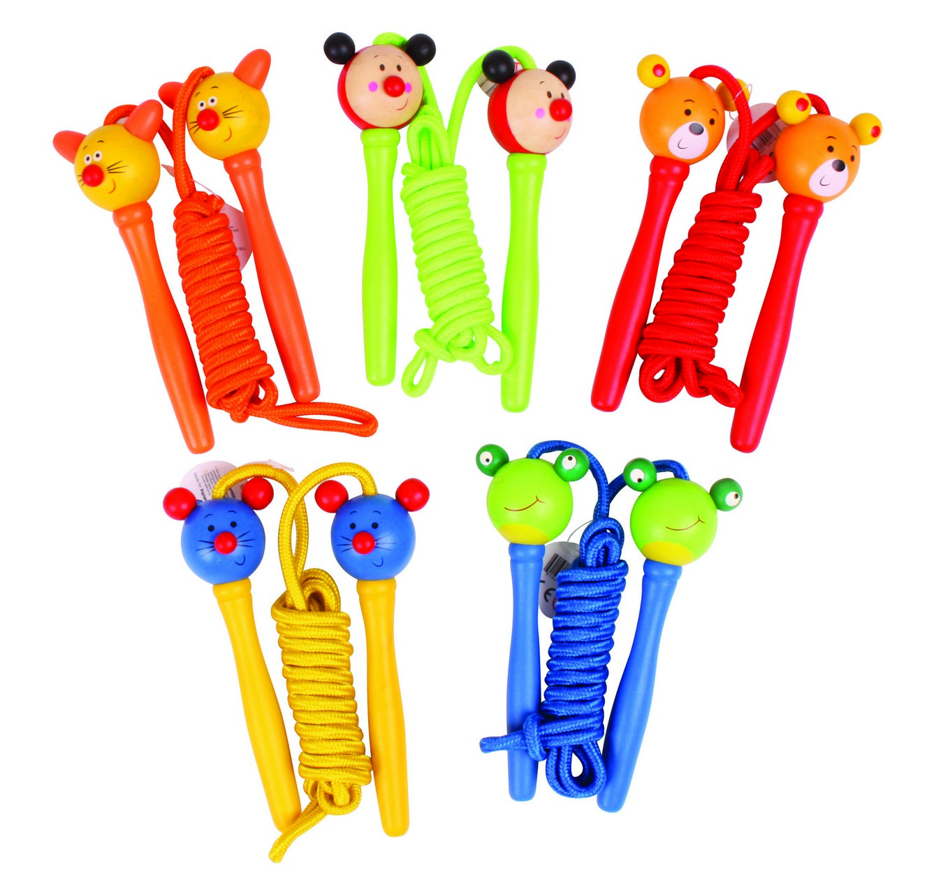 Coloured Skipping Rope - Each