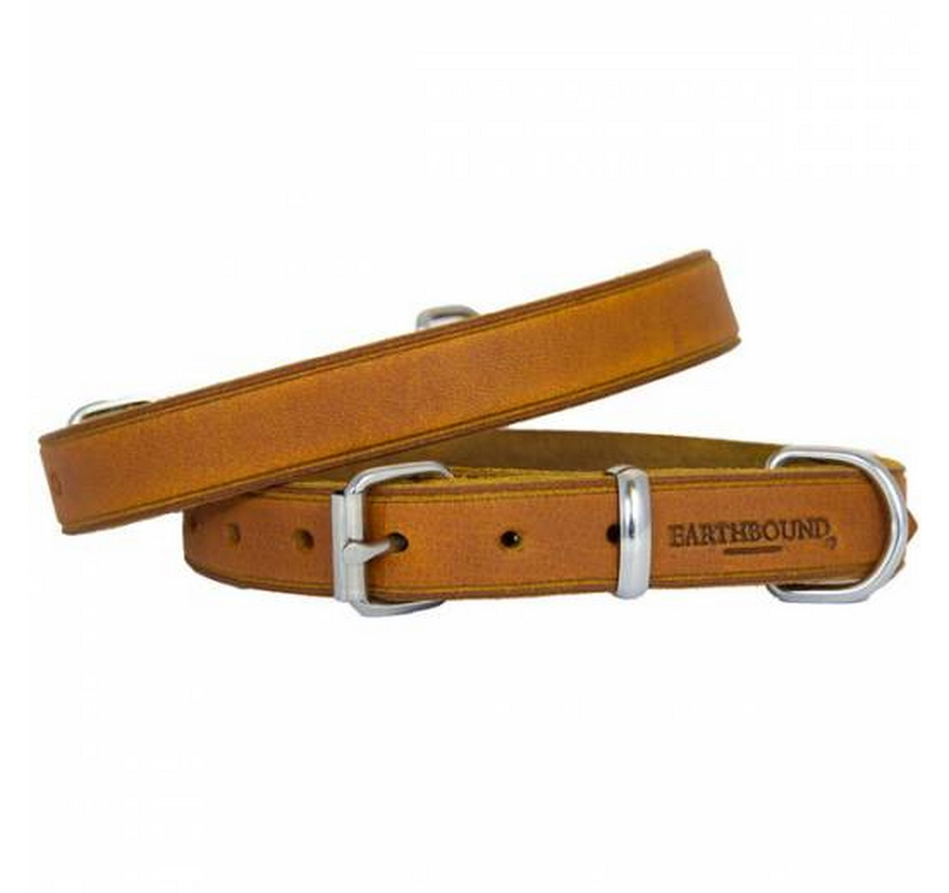 Country Leather Tan Collar XL