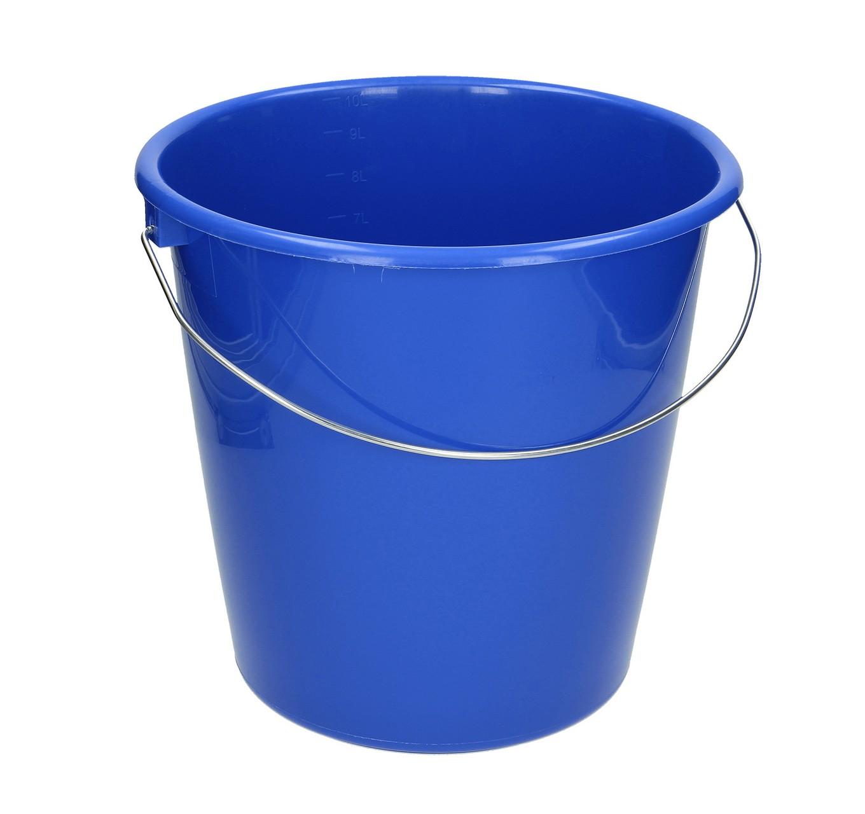 Household Bucket 10L - Blue