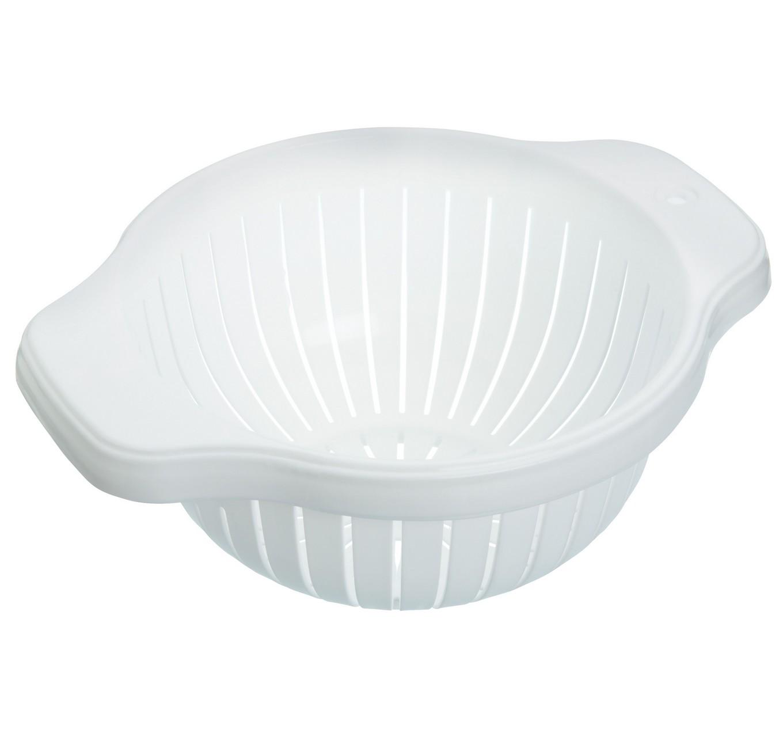 White Plastic Colander 20cm
