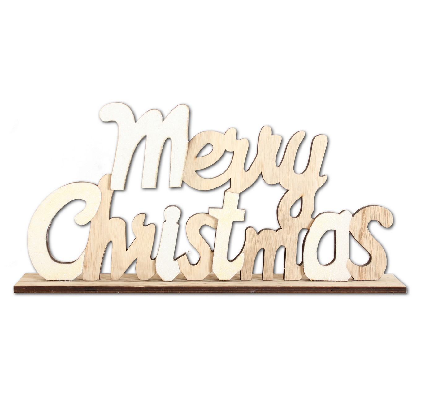 Natural Sparkle Christmas Sign