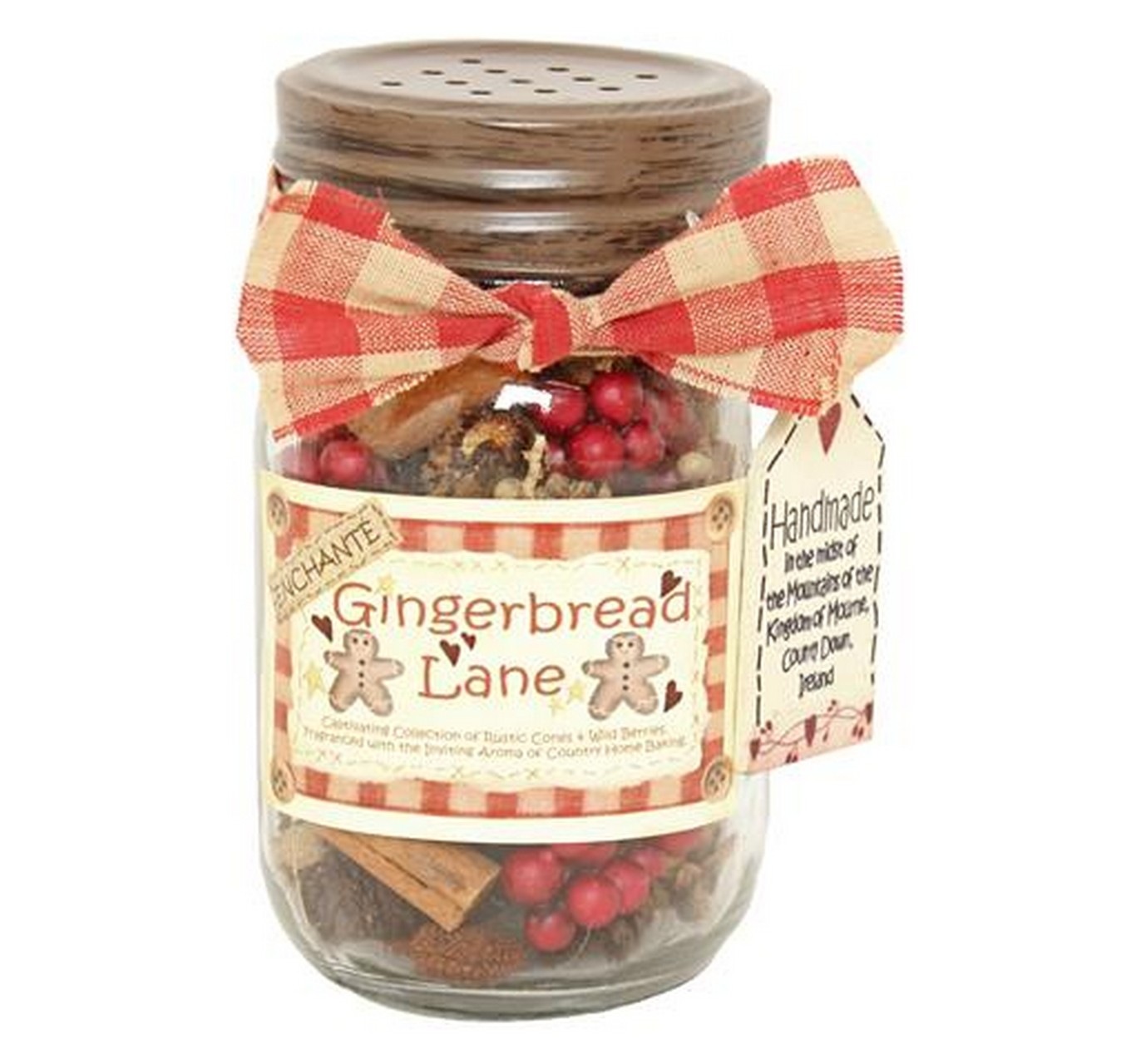 Gingerbread Lane Jar