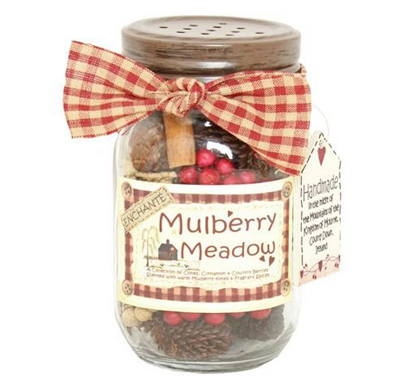 Mulberry Meadow Jar