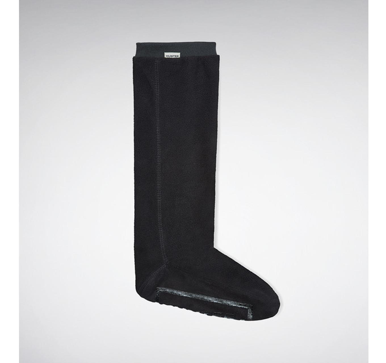 Boot Socks Long Black M