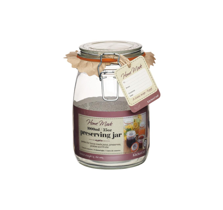 Glass Preserving Jar 1000ml