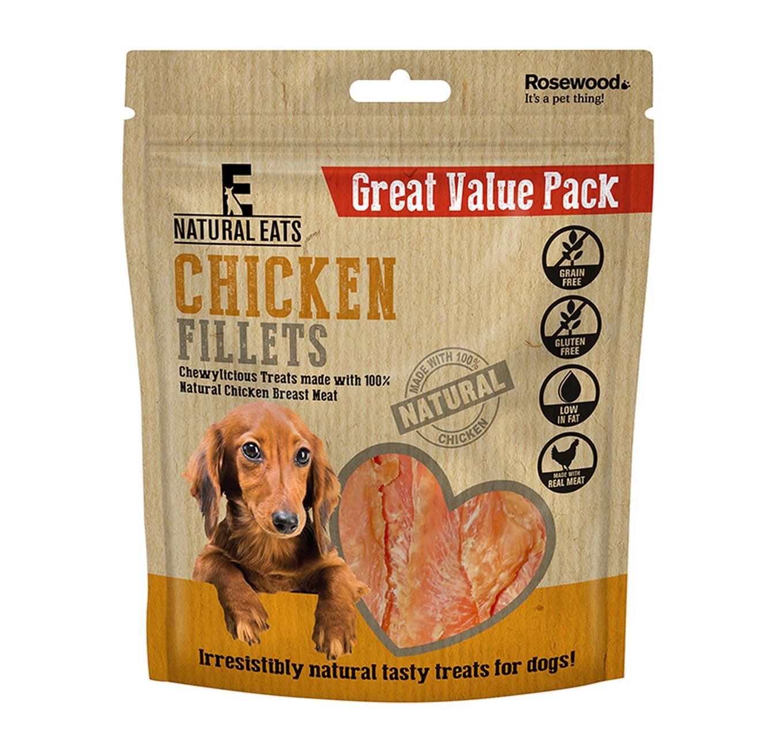 Chicken Fillet Treats 400g