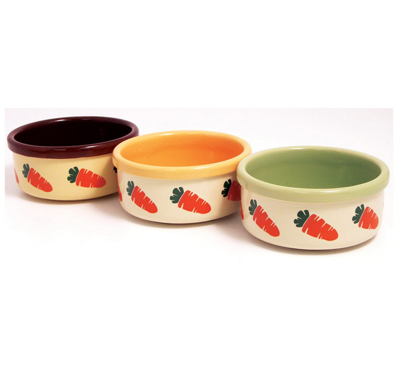 Ceramic Carrot Bowl - Each