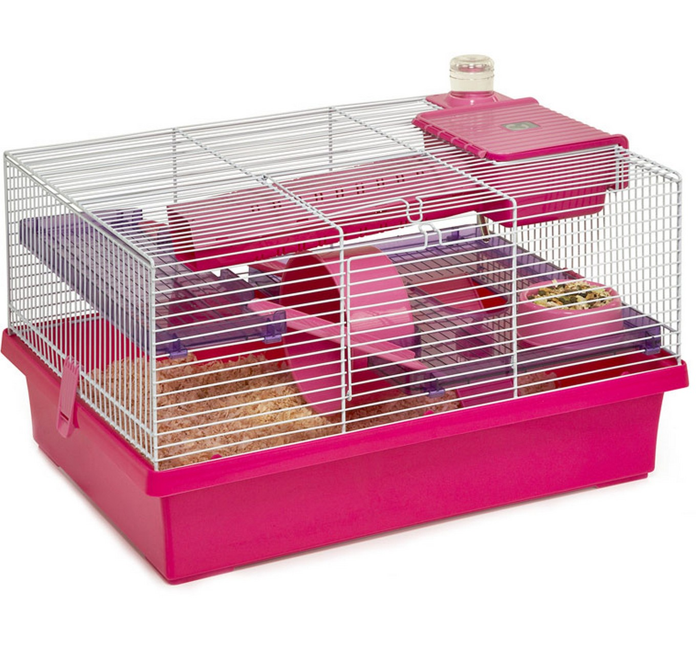 Rosewood Pet Products Pico Hamster Cage Pink Small Animals Tincknell Country Store