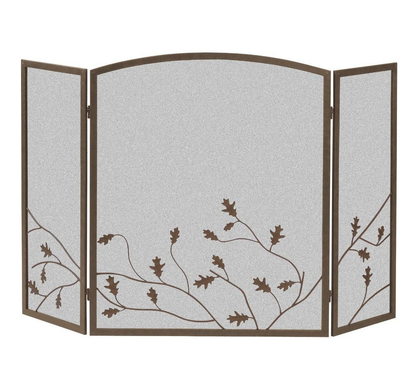 Oak Leaf Screen - Brown