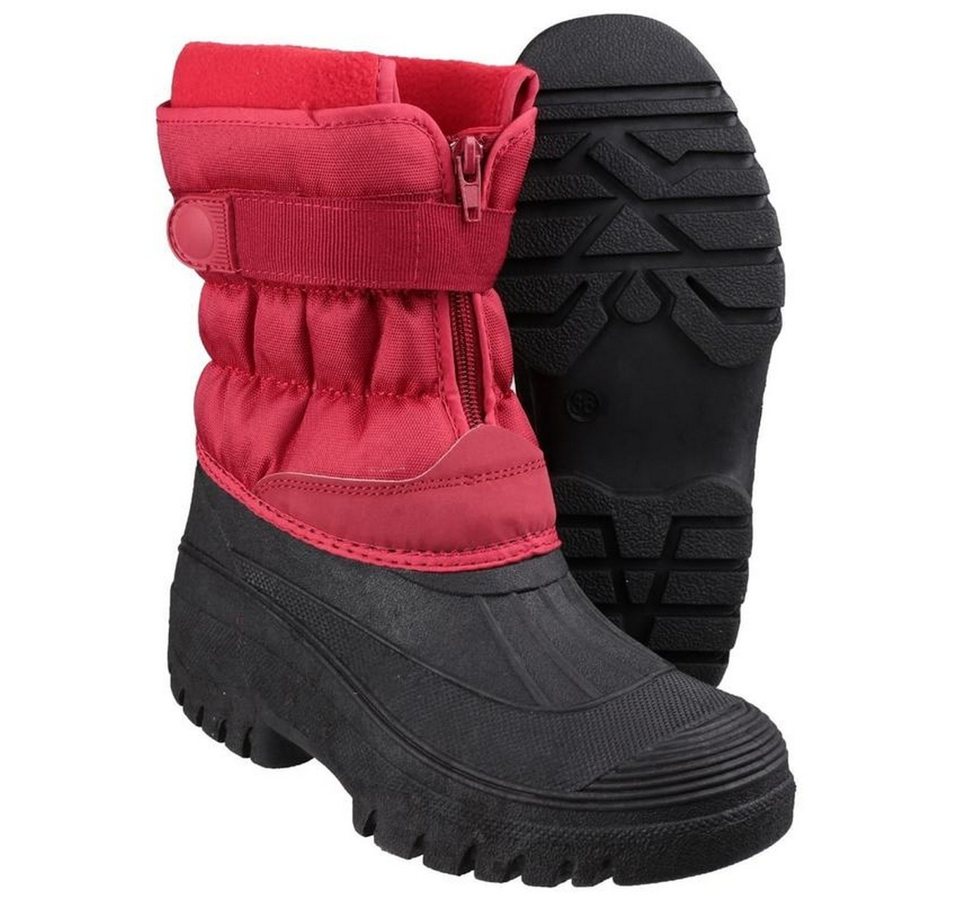 Chase Snow Boots Red 39