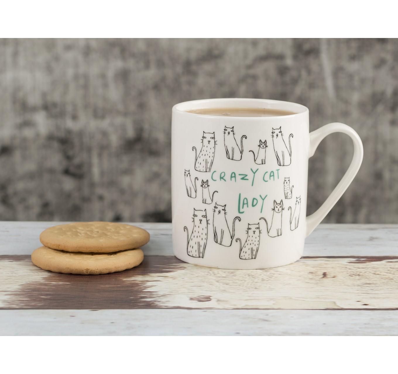 Everyday Home Cat Can Mug