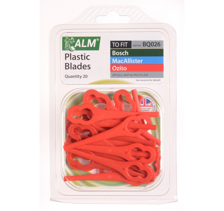 BQ026 Plastic Blades 20pk