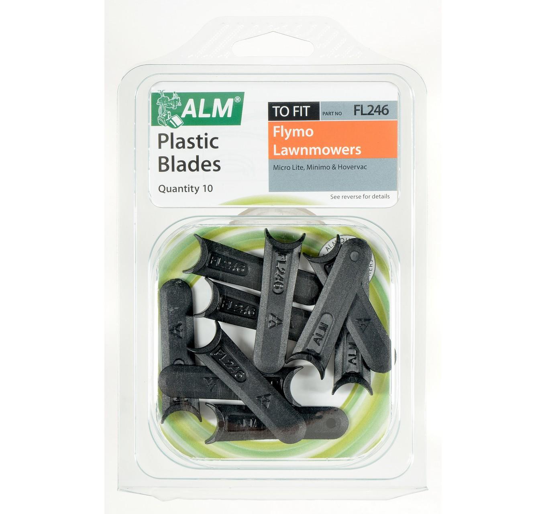 FL246 Plastic Blades 10pk