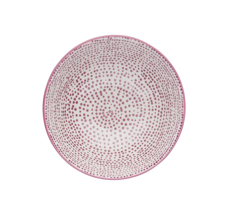 Purple Watercolour Bowl 15.7cm
