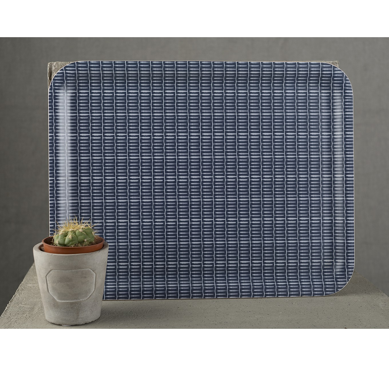 Drift Willow Blue Tray - Large