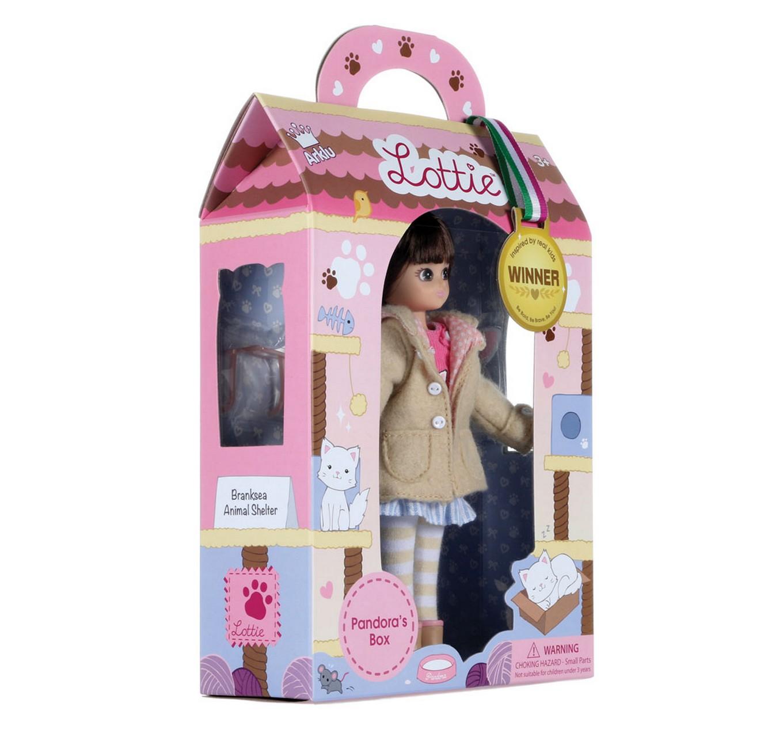 Pandora's Box Lottie Doll