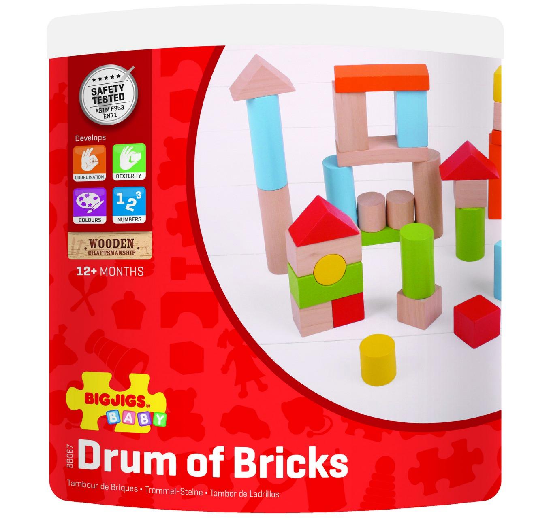 First Drum of Bricks